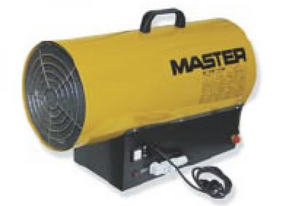 Master BLP53ET plynový ohrievač