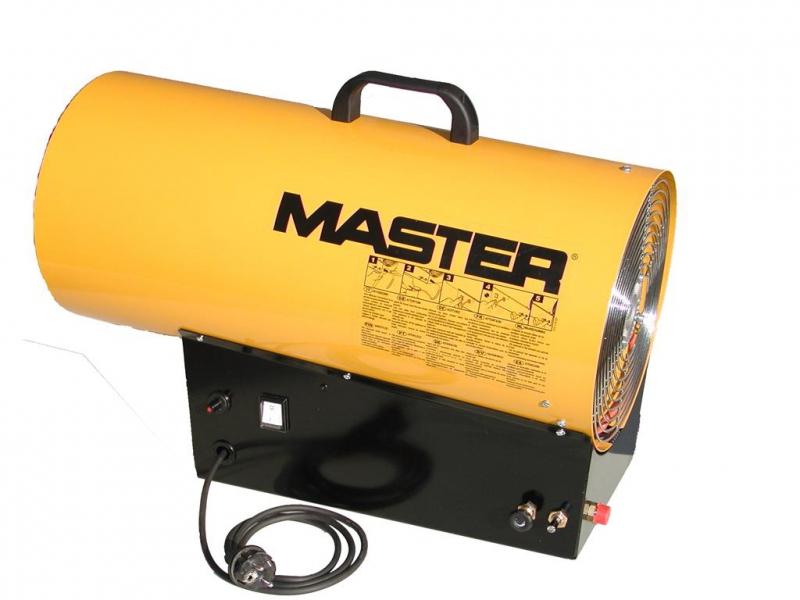 Master BLP73M plynový ohrievač